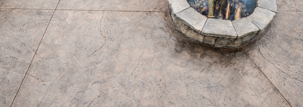 Update an Older Home's Backyard with Cohesive Concrete Stamping