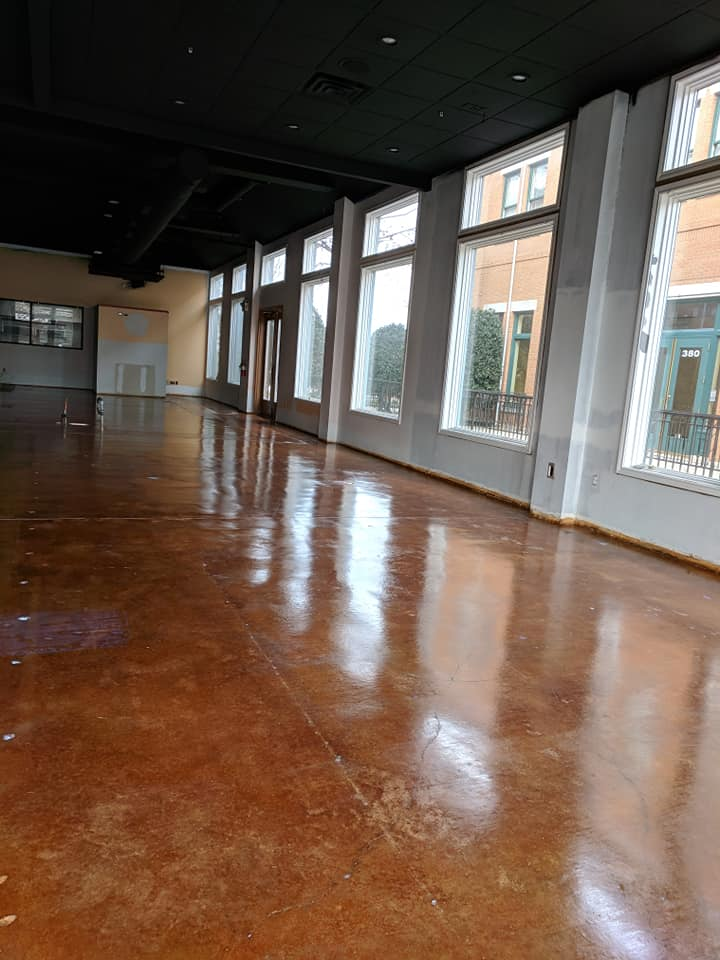 Choosing a Decorative Concrete Stain for Your Commercial Facility