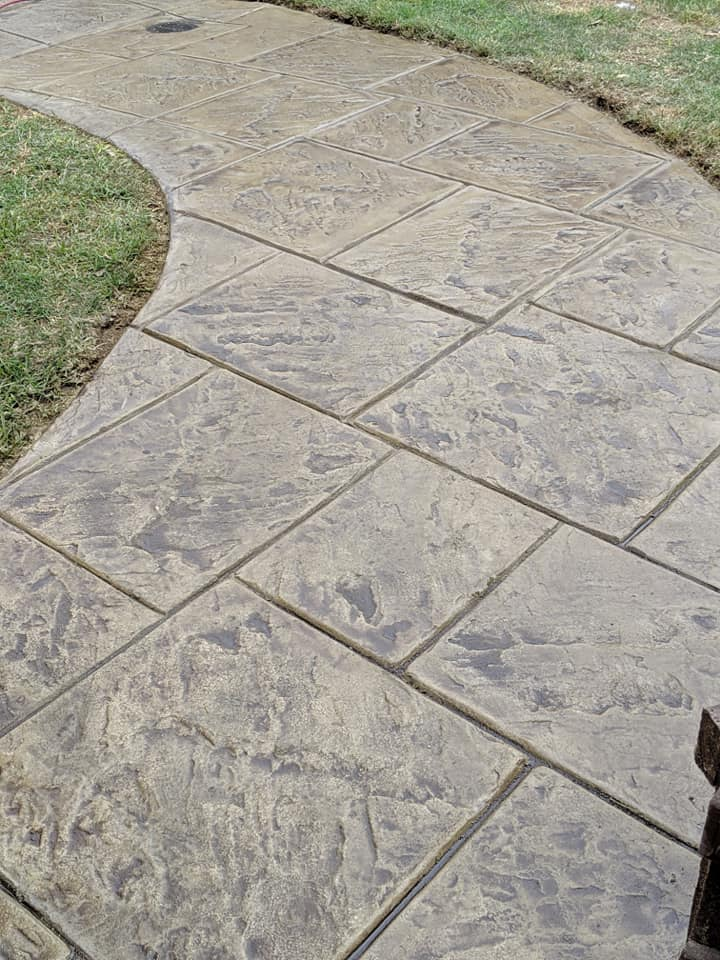 Stamped Concrete Can Help Improve the Curb Appeal of Your Home
