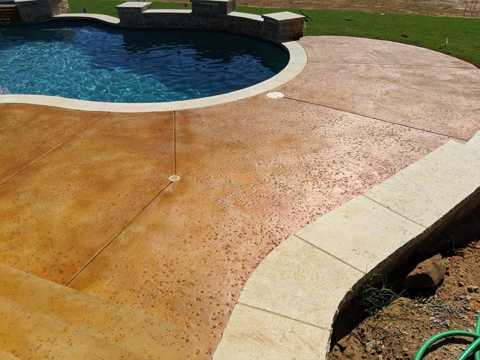 Acid Stains for Contemporary Backyard Retreats