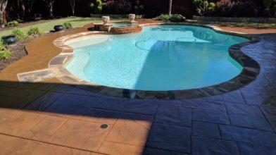 Poolside Decorative Concrete