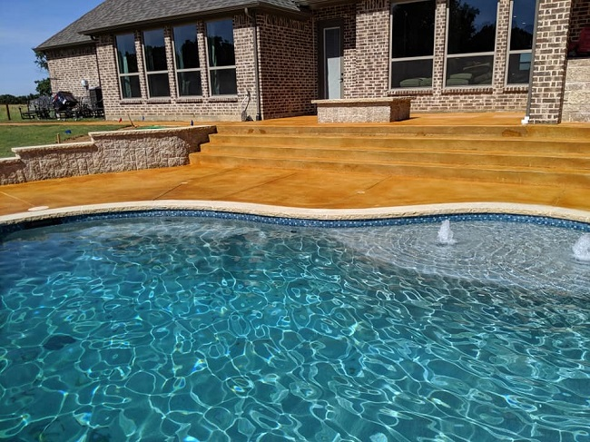 Transform Your Patio with Stamped Concrete
