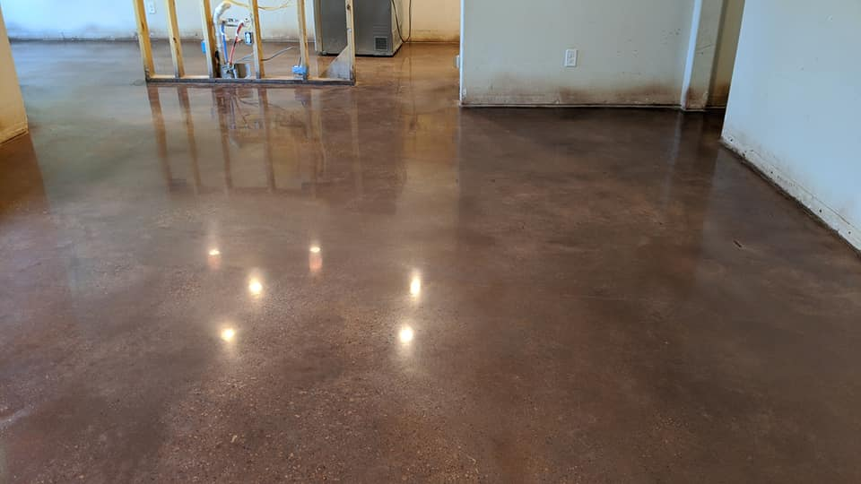 Are Stained Concrete Floors Good With Pets?
